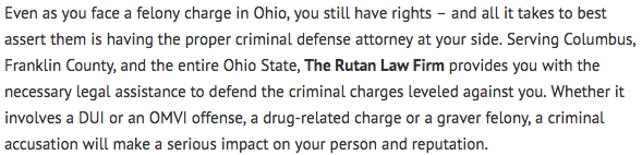 Criminal Attorney Columbus Ohio Article